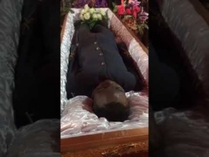 Video: Tears Flow At The Burial Of Singer Ebony's Soldier Bodyguard
